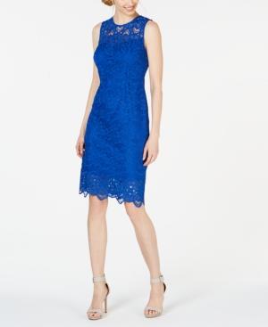 Calvin Klein Dresses LACE SHEATH DRESS