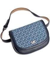 ab7c6bd6b6e5e1 MICHAEL Michael Kors Denim Signature Belt Bag