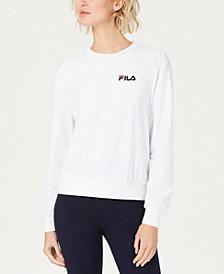 Emilia Logo Velour Sweatshirt