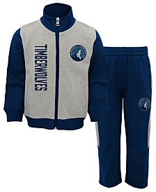 Outerstuff Minnesota Timberwolves On the Line Pant Set, Toddler Boys (2T-4T)