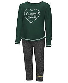 Colosseum Oregon Ducks Legging Set, Toddler Girls (2T-4T)