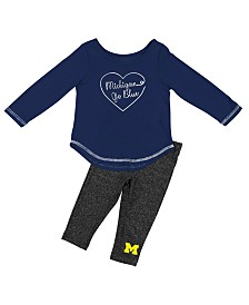 Colosseum Michigan Wolverines Legging Set, Infants (12 months)