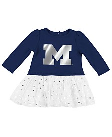 Colosseum Michigan Wolverines Girls Tutu Dress, Infants (0-9 Months)