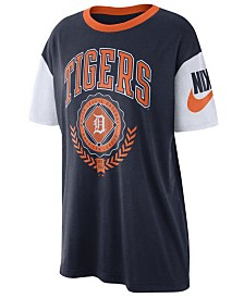 Nike Women's Detroit Tigers Retro Boycut T-Shirt