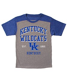 Wes & Willy Kentucky Wildcats Tri-Blend Colorblocked T-Shirt, Little Boys (4-7)