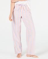 950c7d6a523 Charter Club Stripe-Print Woven Soft Cotton Pajama Pants