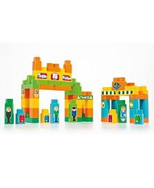 Molto - Train Block Box, 120 Pieces