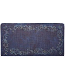 Nicole Miller Cook N Comfort Cushioned Anti-Fatigue Kitchen Mat Tuscan Fleur