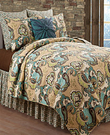 Kasbah Full Queen 3 Piece Quilt Set