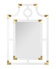 Analiz Acrylic Mirror in Brass