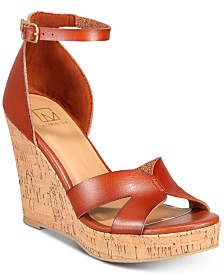 a205be0c33163 Material Girl Bretta Wedge Sandals