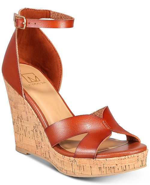 02e2886fe ... Material Girl Bretta Wedge Sandals