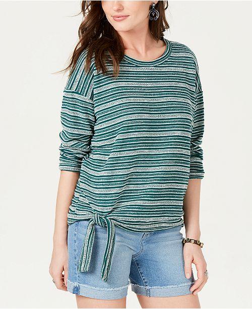StyleCo les Stripe raye manches Women a longues et pour critiques Haut rayurescree Tops Green 1uTJFKlc3