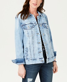 4605a9de49e Denim Jackets for Women - Macy s