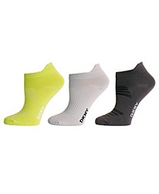 Sport Women's 3 Pack Microfiber Low-Cut Socks
