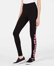 Juicy Couture Graphic High-Rise Leggings
