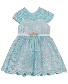 Rare Editions Baby Girls Lace Dress