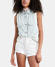 Levi's® Maddie Sleeveless Cotton Shirt