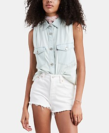 Levi's® Maddie Sleeveless Cotton Shirt