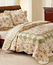 Bliss Quilt Set, 3-Piece Full - Queen