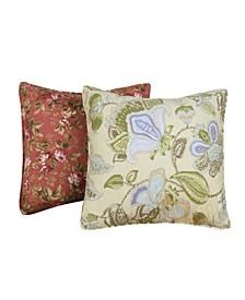 Floral Decorative Pillow 2-Pack