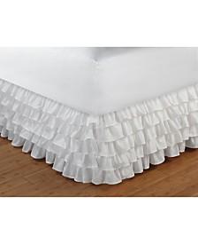 "Multi-Ruffle Bed Skirt 15"" Twin"