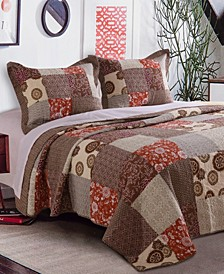 Stella Quilt Set, 3-Piece Full - Queen