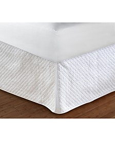 "Diamond Quilted Bed Skirt 18"" Twin"