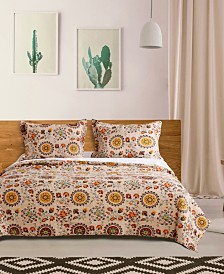 Andorra Quilt Set, 3-Piece Full - Queen