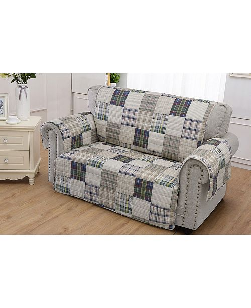 Greenland Home Fashions Oxford Furniture Protector Loveseat