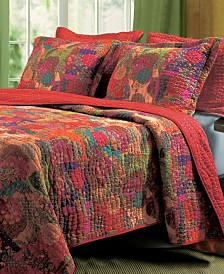 Jewel Quilt Set, 3-Piece Full - Queen