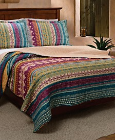 Southwest Quilt Set, 3-Piece Full - Queen