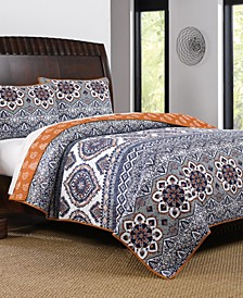 Medina Quilt Set, 3-Piece Full - Queen