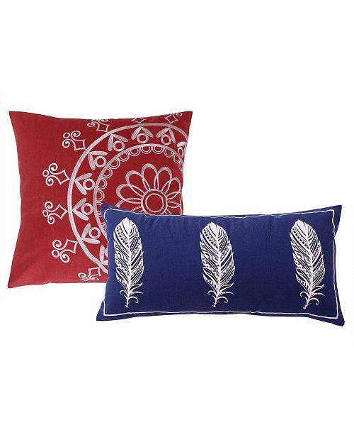 Greenland Home Fashions Dream Catcher Dec. Pillow Pair
