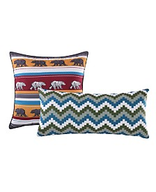 Black Bear Lodge Dec. Pillow Pair