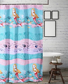 Mermaid Bath Shower Curtain