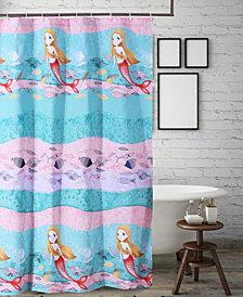 Mermaid Bath Shower Curtain