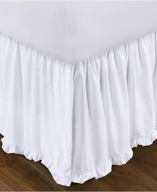 """Greenland Home Fashions Sasha Bed Skirt 15"""" Twin"""