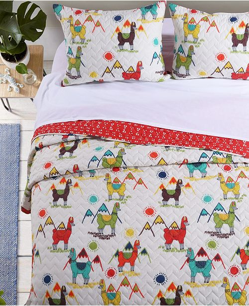 Greenland Home Fashions Cuzco Quilt Set, 2-Piece Twin
