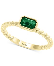 EFFY® Emerald (1/2 ct. t.w) Ring in 14k Gold