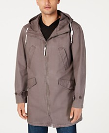 Sean John Men's Three-Quarter Length Anorak Jacket