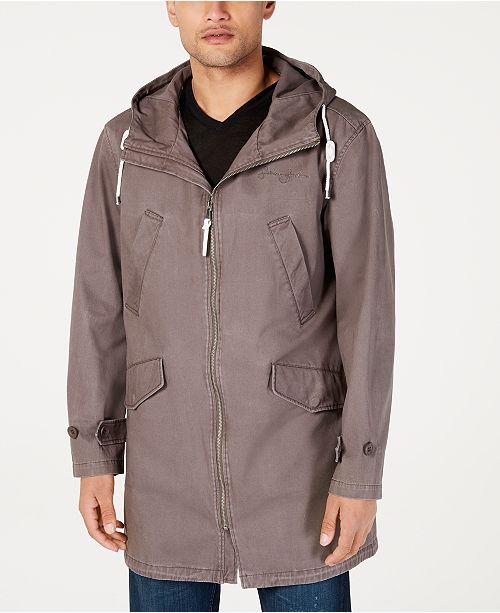 Sean John Men's Three-Quarter Length Anorak Jacket