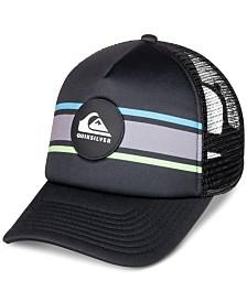 Quiksilver Men's Logo Graphic Trucker Hat