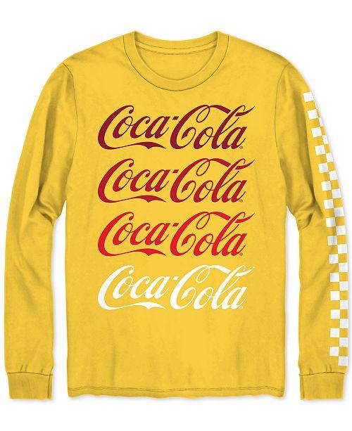 Hybrid Coca-Cola Long-Sleeve Men's T-Shirt