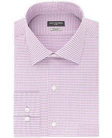 Van Heusen Men's Classic/Regular Fit Stretch Flex Print Dress Shirt