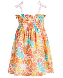 First Impressions Baby-Girls Printed Sundress, Created for Macy's