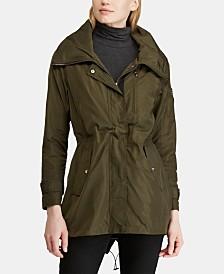 Lauren Ralph Lauren Zip-Front Anorak Jacket