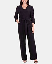 22f2ee29fd60 NY Collection Jumpsuits   Rompers for Women - Macy s