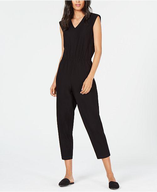 Eileen Fisher V-Neck Jumpsuit, Regular & Petite