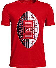Under Armour Big Boys Stadium-Print T-Shirt